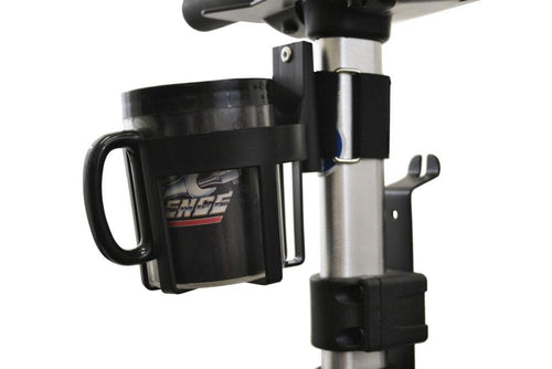 Cup Holder for Exposed Tubing Mobility Device | A1323 - wheelchairstrap.com