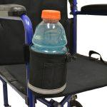 Unbreakable Universal Cupholder - Vertical Grip | A1326 - wheelchairstrap.com
