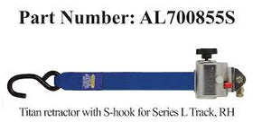REPLACEMENT AL700 TITAN Retractor Strap - wheelchairstrap.com