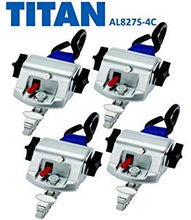 Load image into Gallery viewer, TITAN700 Retractor Kit  | S-Hooks & L-Track | AL727S-4C - wheelchairstrap.com