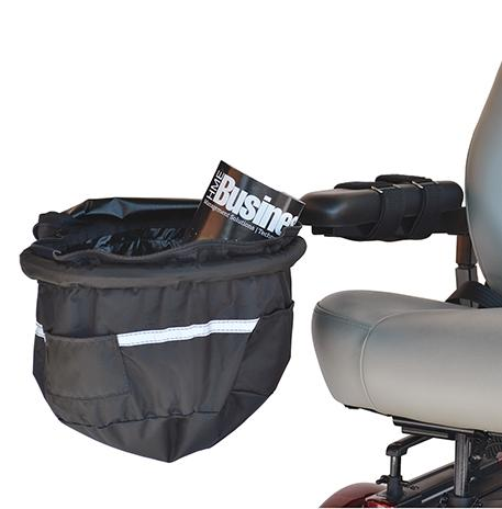 Large Front Basket Bag | B2112 - wheelchairstrap.com