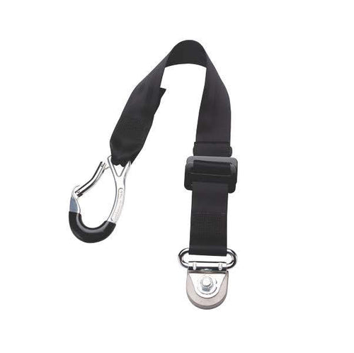 Front Static Belt With Carabiner & Smart Fitting | H350565CM - wheelchairstrap.com