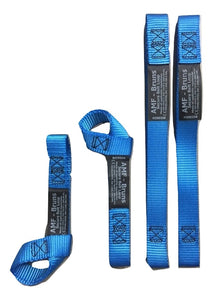 Qty 4 Secure Webbing Loop Tethering Strap 14"