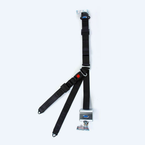 Retractable Shoulder & Lap Belt Combination | Q8-6326-A1-T - wheelchairstrap.com