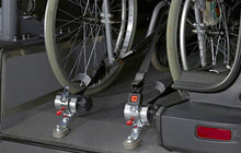 Load image into Gallery viewer, SILVERSERIES - PROTEKTOR®-System Wheelchair Restraints - 4 PACK KIT - wheelchairstrap.com
