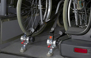 SILVERSERIES - PROTEKTOR®-System Wheelchair Restraints - 4 PACK KIT - wheelchairstrap.com