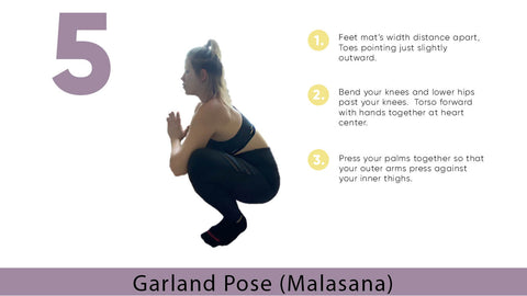 Garland Yoga Pose (Malasana) for Flexibility | My Yoga Essentials