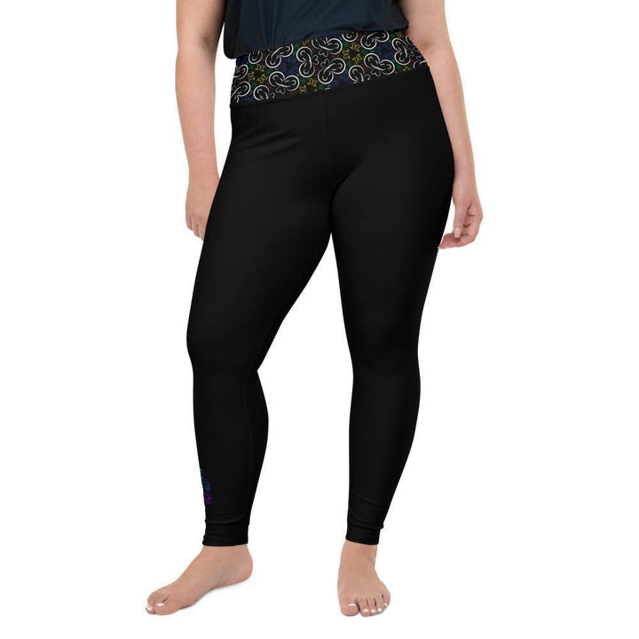 Plus Size Leggings - Kaleidoscope Yogi