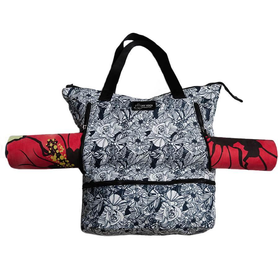 Bags Black Rose Yoga Mat Bag