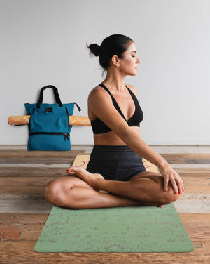 Bags Teal Yoga Mat Bag