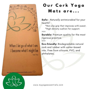 cork Lotus Lotus Cork and Natural Rubber Yoga Mat