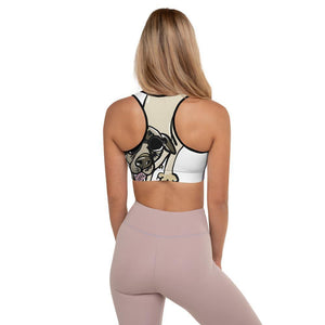 """Downward Dog"" Padded Sports Bra"