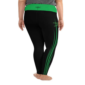 """Dragonfly"" Plus Size Leggings"