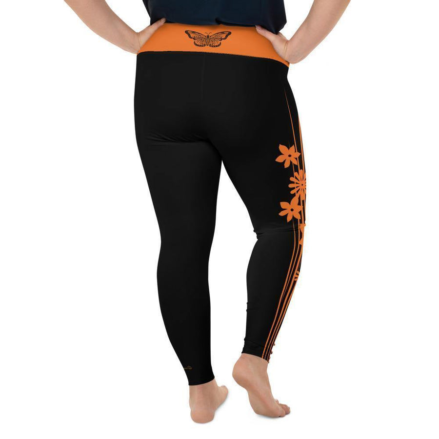 """Monarch"" Plus Size Leggings"