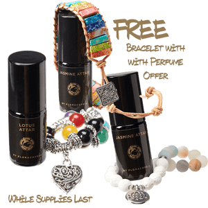 Organic Perfume and FREE Bracelet offer!