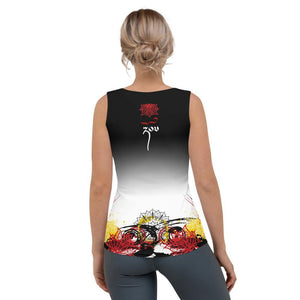 """Strong"" Graffiti Series Fitted Tank Top"