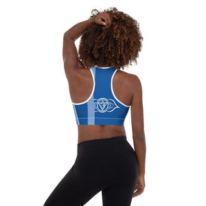 Third Eye Chakra Padded Sports Bra