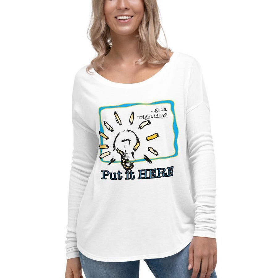 Customizable Design - Ladies' Long Sleeve Tee