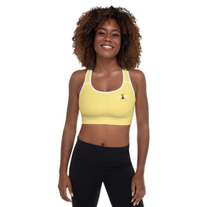 Padded Sports Bra - Bumble Bee