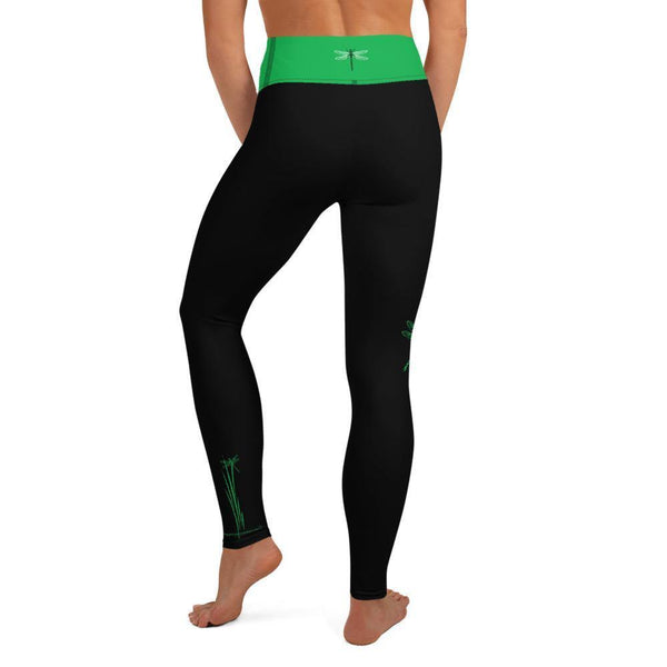 Yoga Leggings - Dragonfly