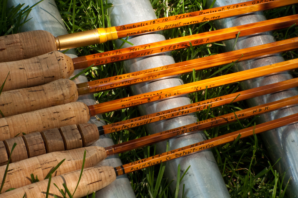 Bamboo Rods For Sale - Vintage Fly Tackle
