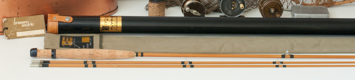 Brunner Walter Quot Type Gebetsroither Quot Bamboo Rod 7 2 2 5