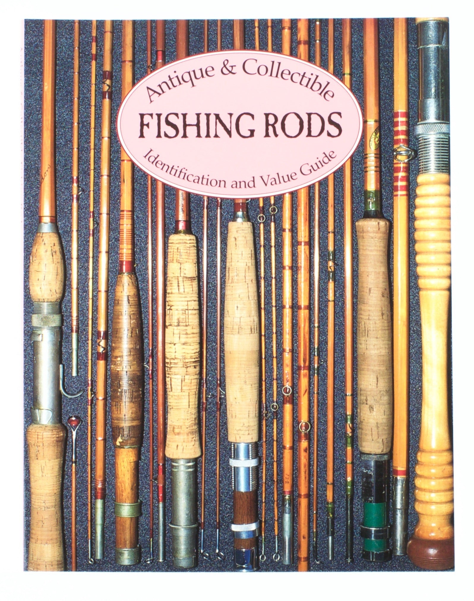 Books for sale vintage fly tackle for Old fishing rods