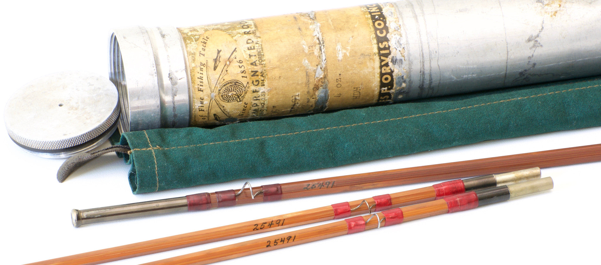 Orvis 99 Bamboo Rod - 76 5wt - Vintage Fly Tackle