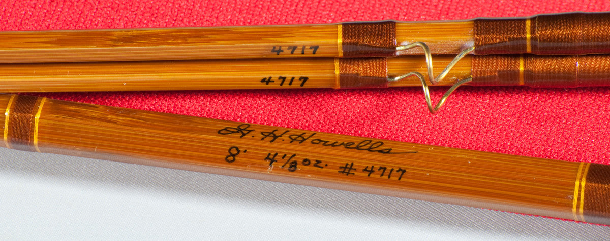 Howells Gary 8 6wt 2 2 Bamboo Rod Vintage Fly Tackle