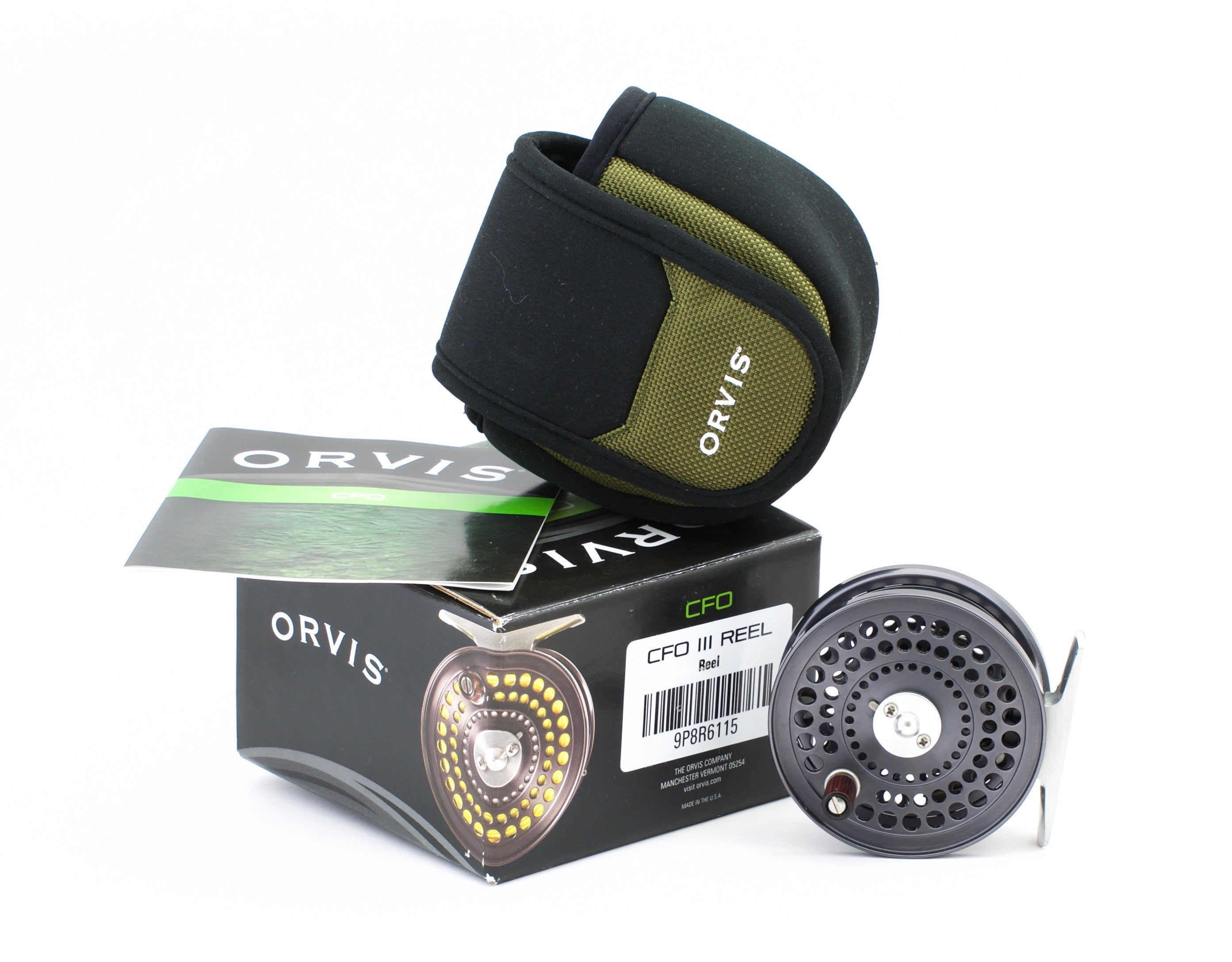 Orvis Cfo Iii Fly Reel Made By Abel Vintage Fly Tackle