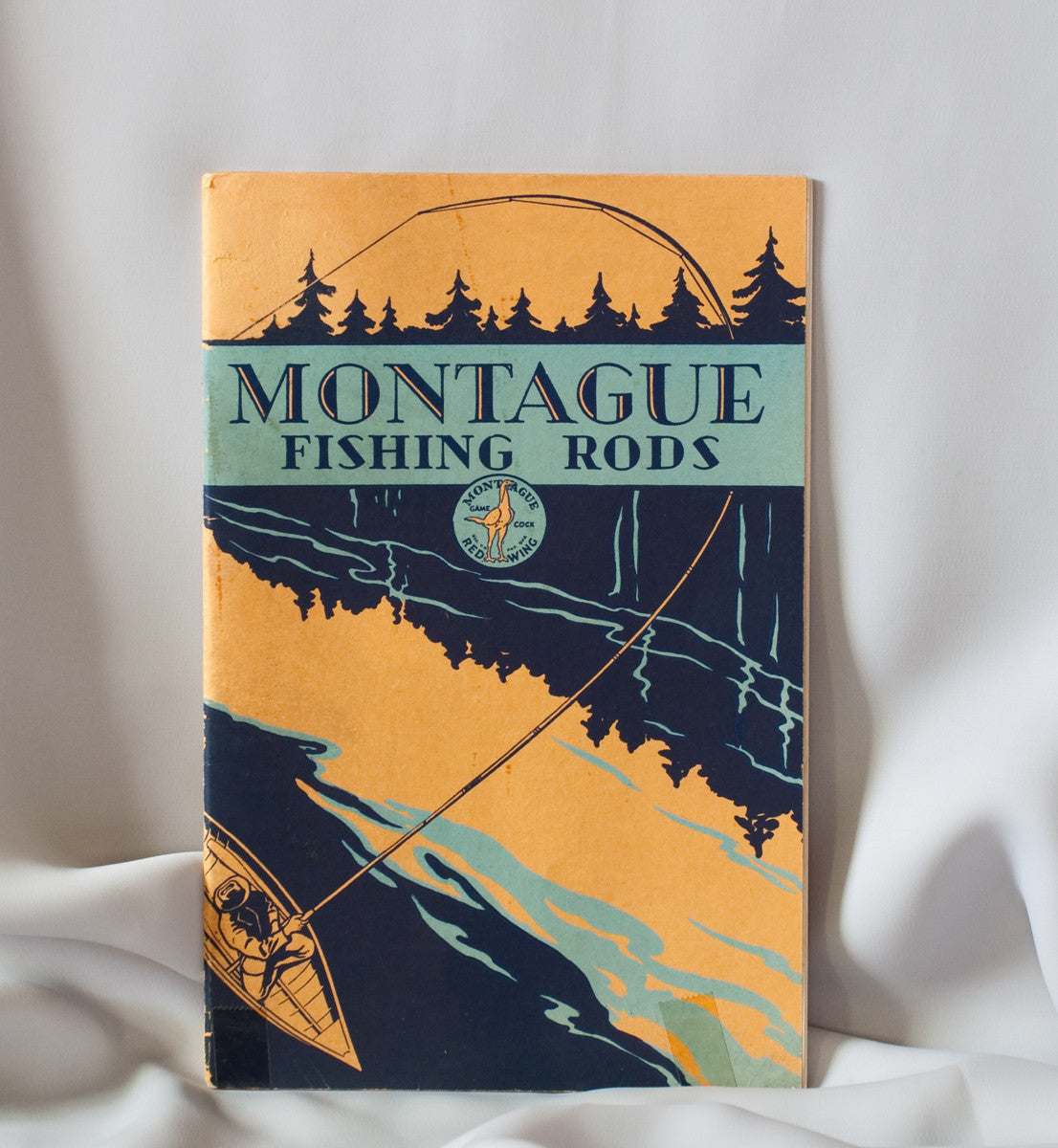 Montague rods catalog 1931 vintage fly tackle for Fly fishing catalog