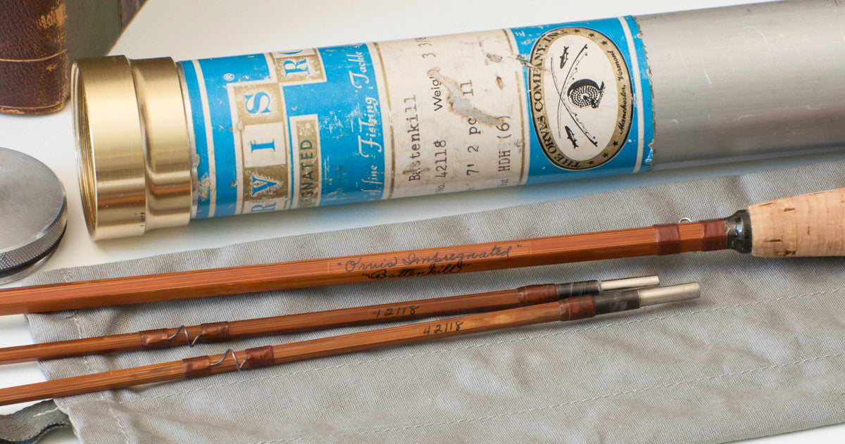 Orvis Battenkill 7 3 3/8 oz. bamboo rod - Vintage Fly Tackle