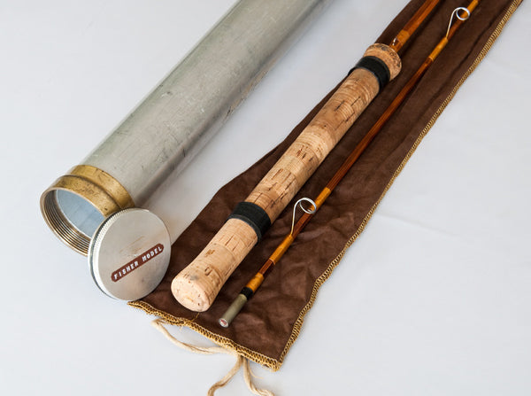 Young Paul H Quot Barney Fisher Quot Bamboo Spinning Rod