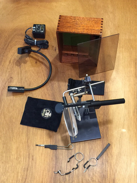 Ari T Hart Deluxe Fly Tying Vise Vintage Fly Tackle