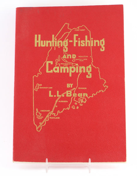 L L Bean Quot Hunting Fishing And Camping Quot 1957 Vintage