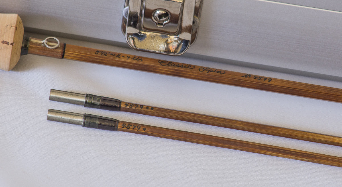 Thomas And Thomas Quot Classic Spin Quot Bamboo Rod Vintage Fly
