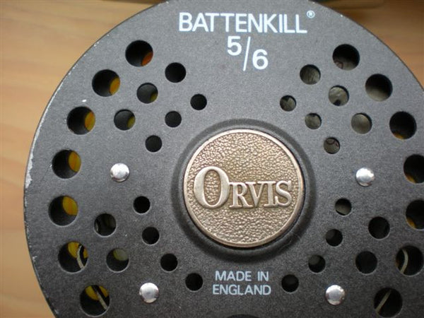 Orvis Battenkill 5 6 Reel Made In England Vintage Fly