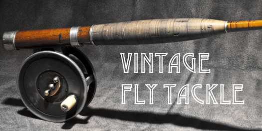 Classic Vintage Fly Fishing Tackle Bamboo Rod Reels