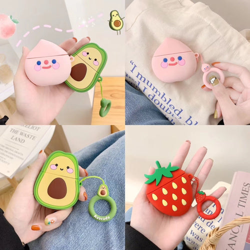 Cute Fruit CaseFor Airpods 2 Protective Cover OT007