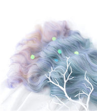 Load image into Gallery viewer, Purple Ombre Wigs W008