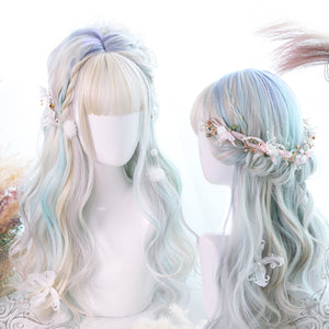Aurora Color Long Wavy Wig H762295
