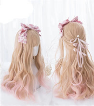 Load image into Gallery viewer, Lolita Blonde Pink Wig W001