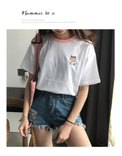 Load image into Gallery viewer, Summer Fruit Embroidered T-shirts