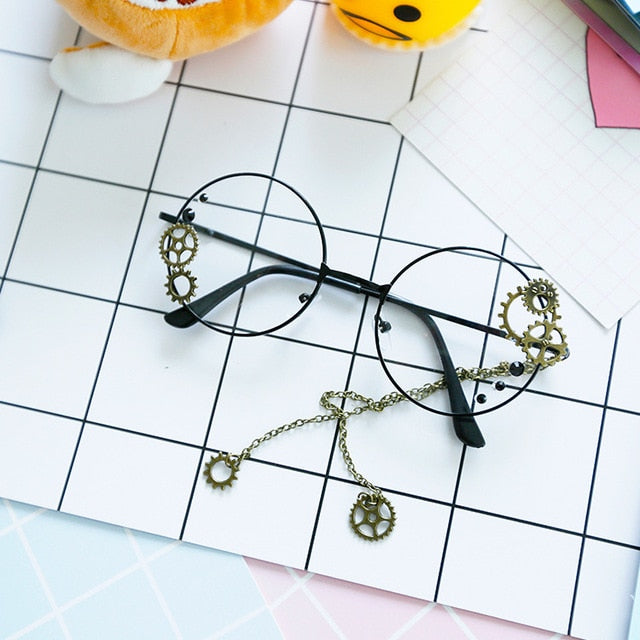 Round Steampunk Glasses