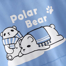 Load image into Gallery viewer, kawaii Polar Bear Ear Hoodie