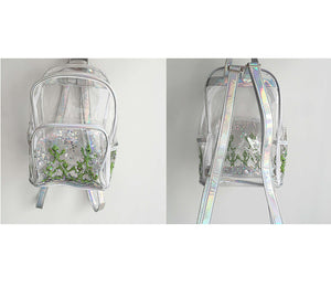 Cute Transparent Alien Backpack BP1009