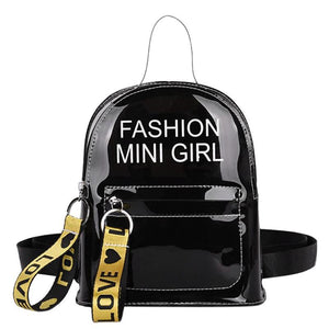 Mini Transparent Women Backpacks BP1003