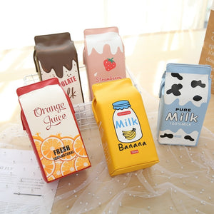 Cute milk shoulder bags B8831