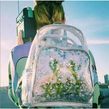 Load image into Gallery viewer, Cute Transparent Alien Backpack BP1009