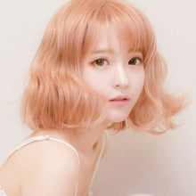 Load image into Gallery viewer, Harajuku Short Blonde Wig W002